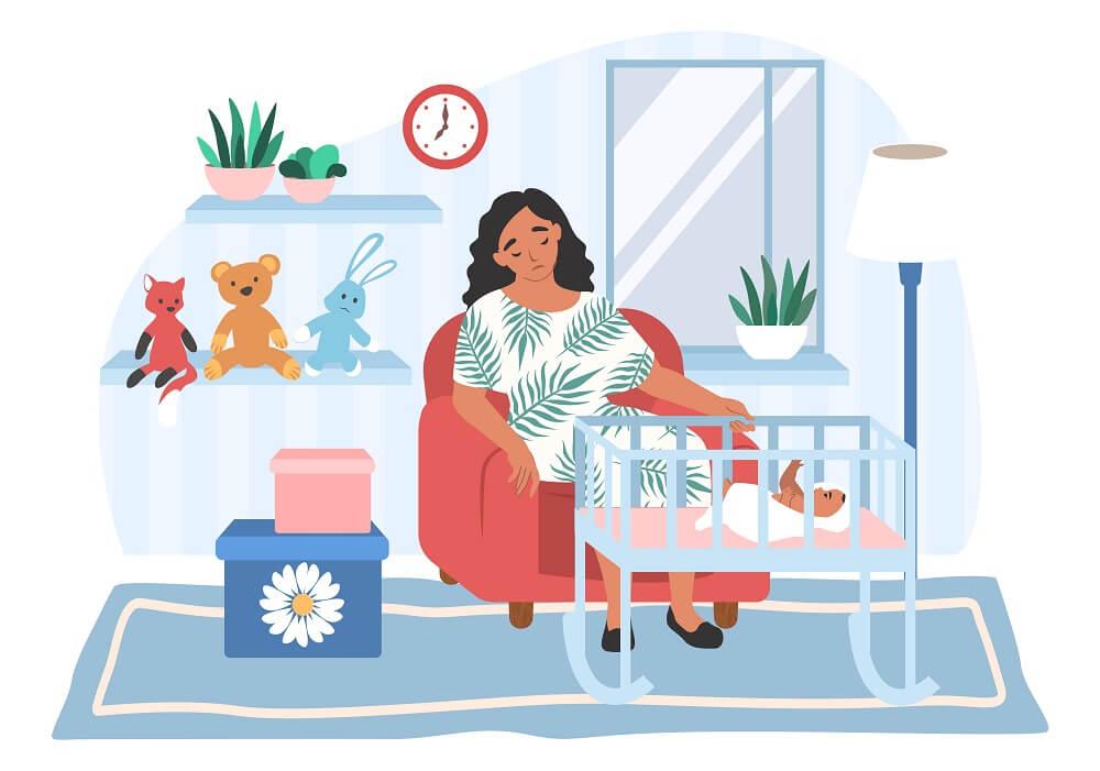דיכאון אחרי לידה: מתי כדאי לפנות לטיפול?